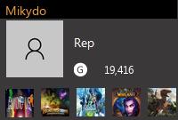 Mikydo's Gamercard
