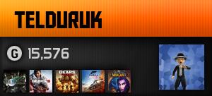 TeldurUK's Gamercard