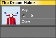 The Dream Maker's Gamercard