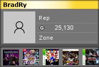 bradry's Gamercard