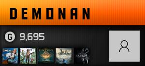 demonan's Ooyuncu Profili