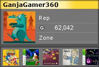 ganjagamer360's Gamercard