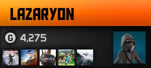 lazaryon's Ooyuncu Profili