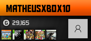 matheusxbox10's Gamercard