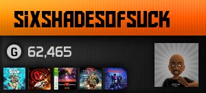sixshadesofsuck's Gamercard